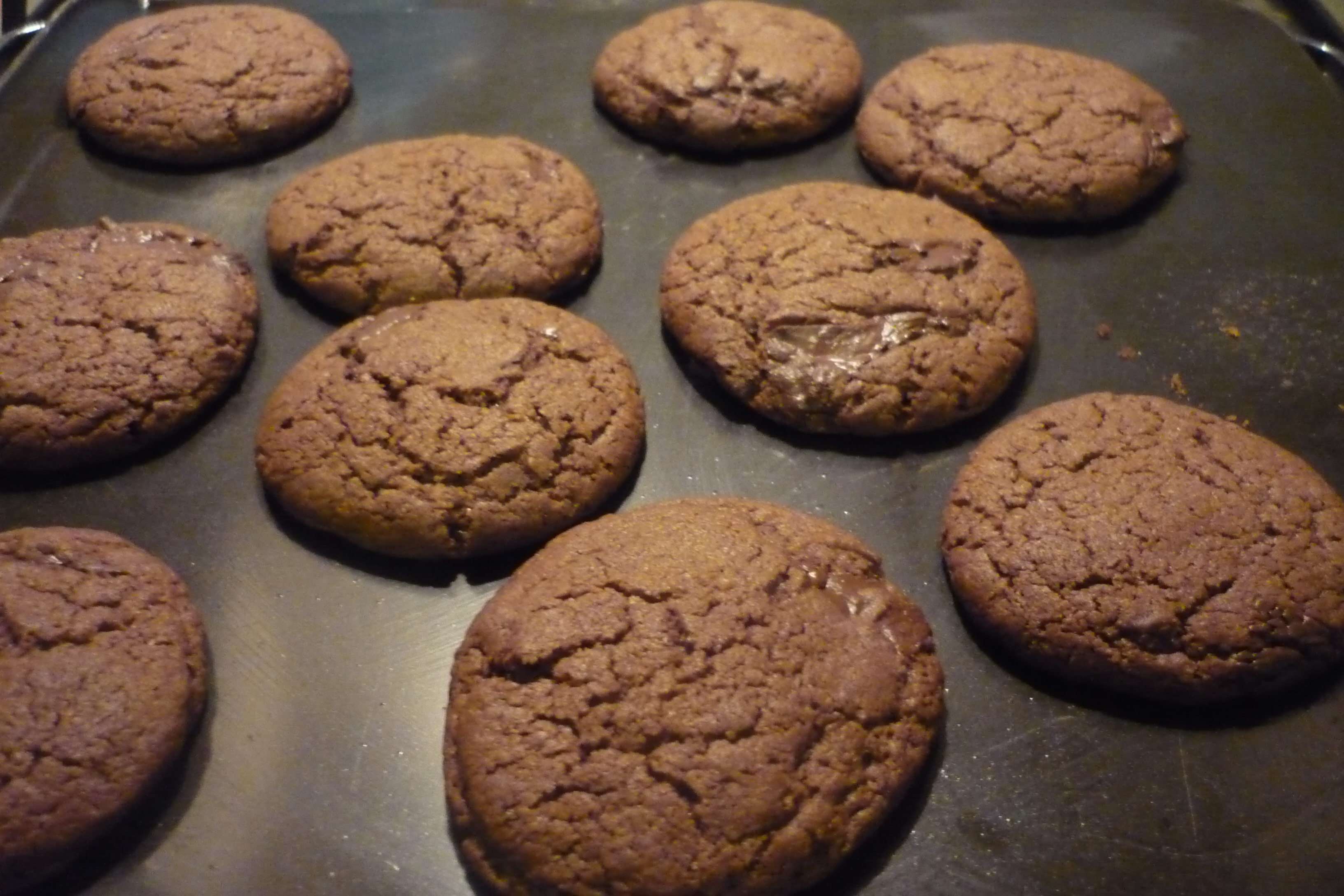Crunchy Chocolate Cookies – Baking and Life