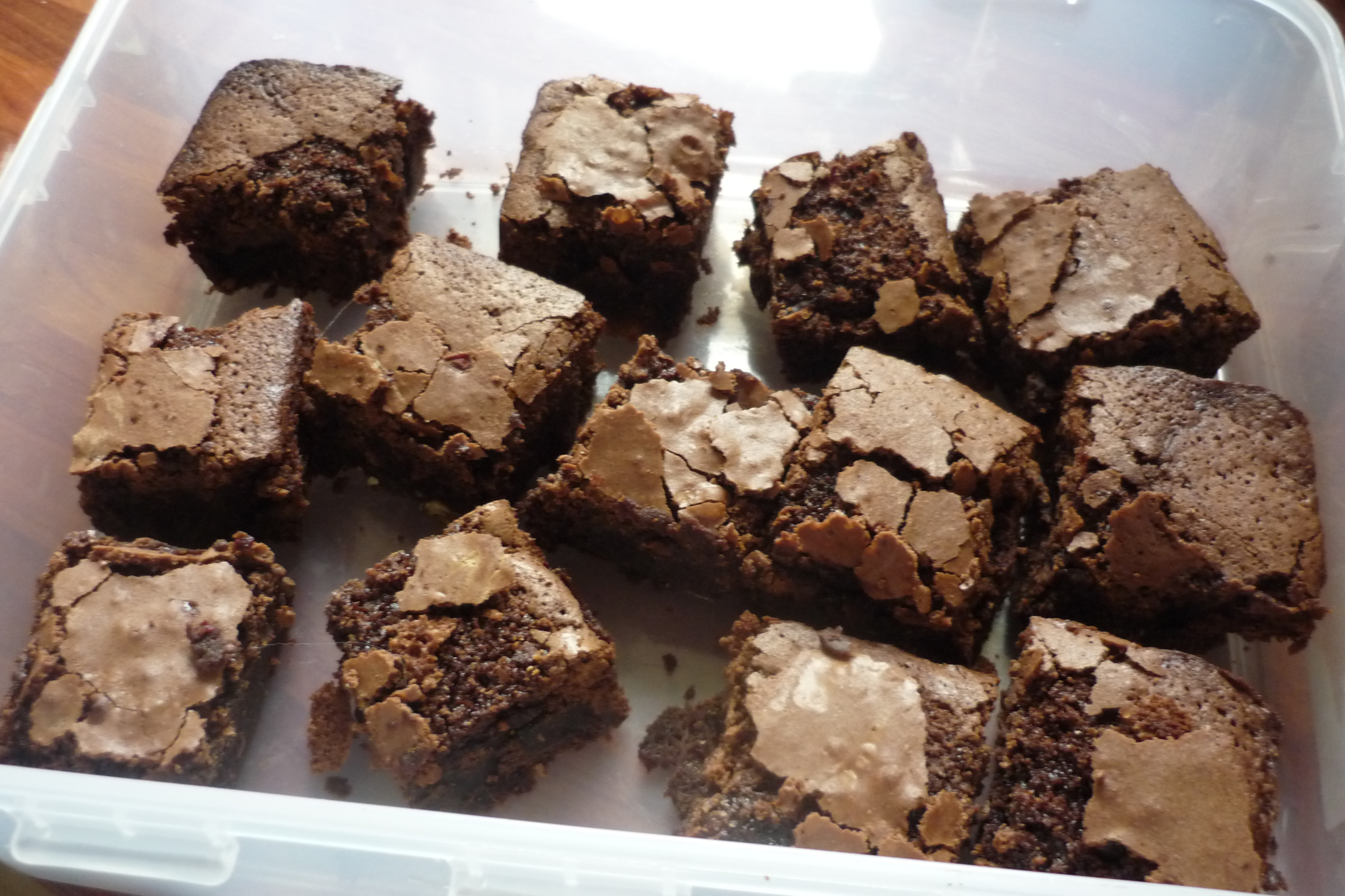 Salted Fudge Brownies – Baking and Life